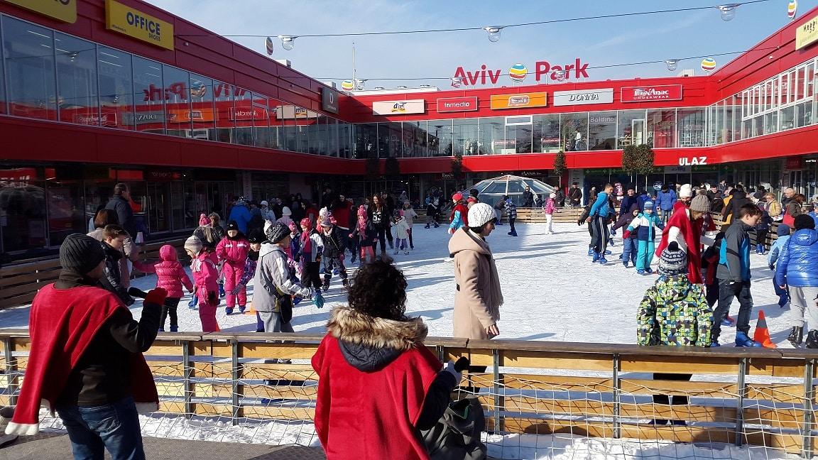 Zimske Olimpijske Igre Aviv Park Zvezdara