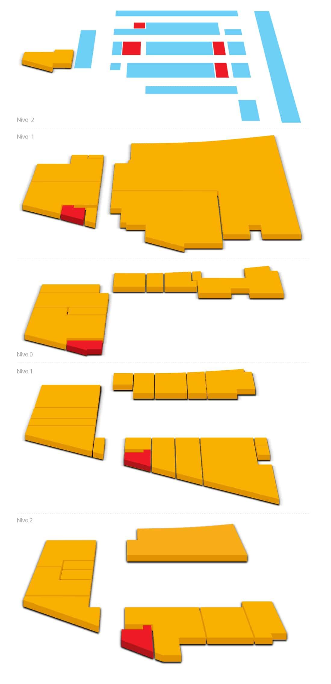 Mapa Objekta Aviv Park Zvezdara